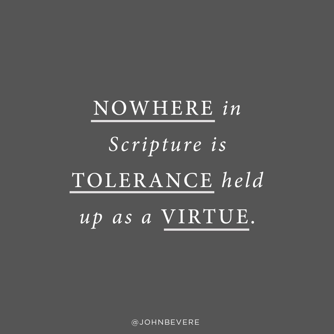 What is tolerance really? 1
