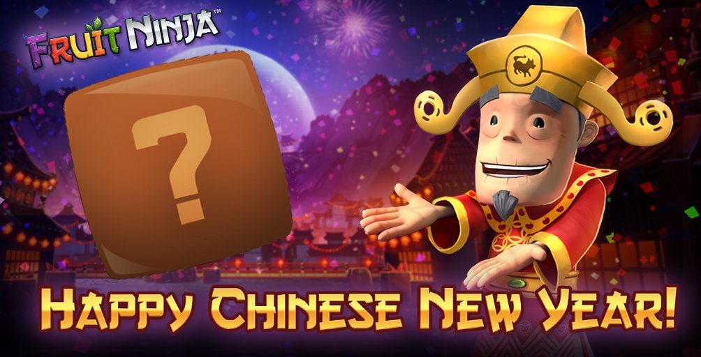 Gong Xi Fa Cai! Welcome the Year of the Dog with a new Fruit Ninja event. Win prizes and enjoy the festival! 🐶 https://t.co/RXMrbxTr94 https://t.co/BcPRsa44FS