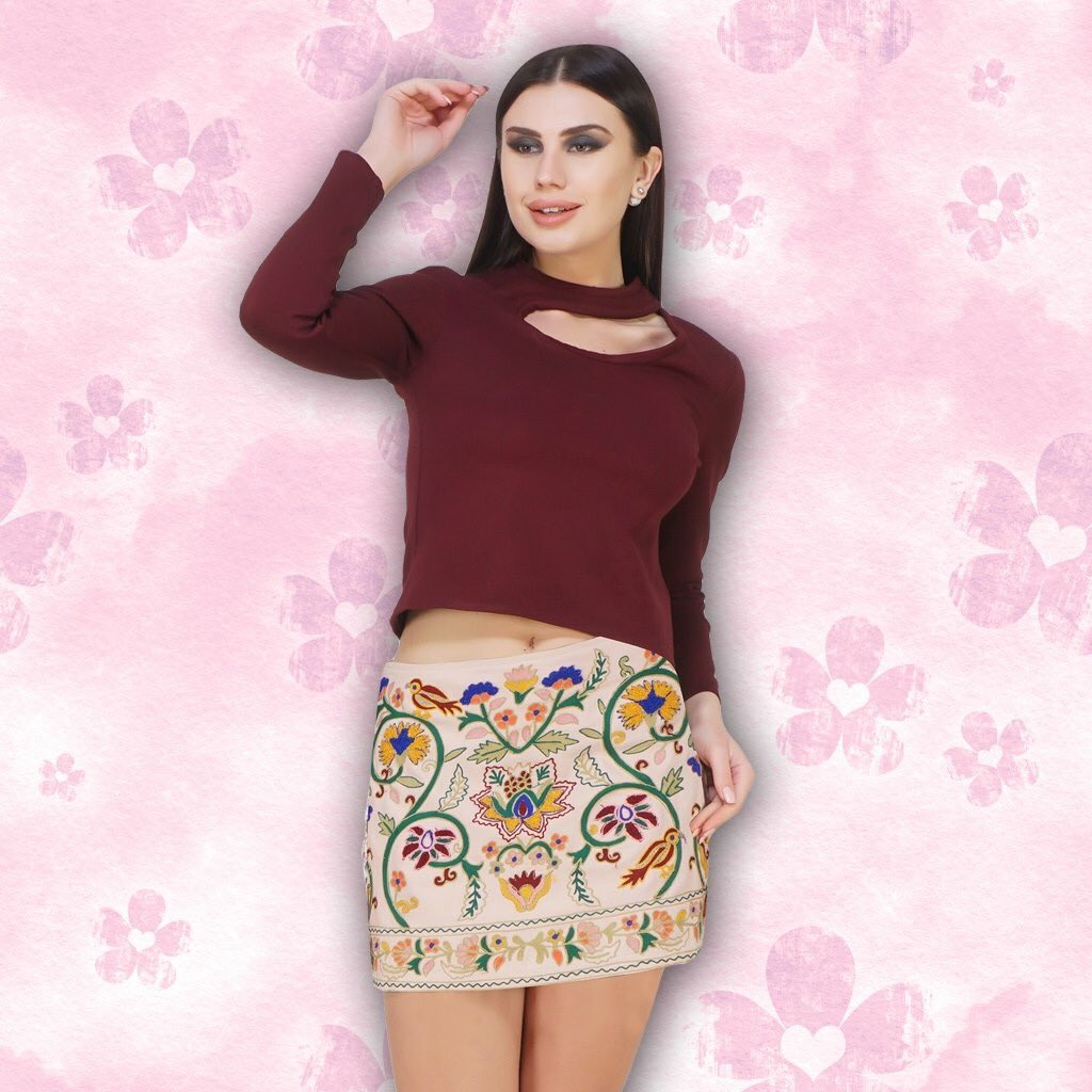 Build up a fashion wardrobe with www.sexyandbroke  #EmbroideredSkirt #Tops #Jackets #ShopTheLook #PairUp #SexyandBroke #OnlineShopping #OOTD #TrendingNow #LatestTrending #ChicStyling