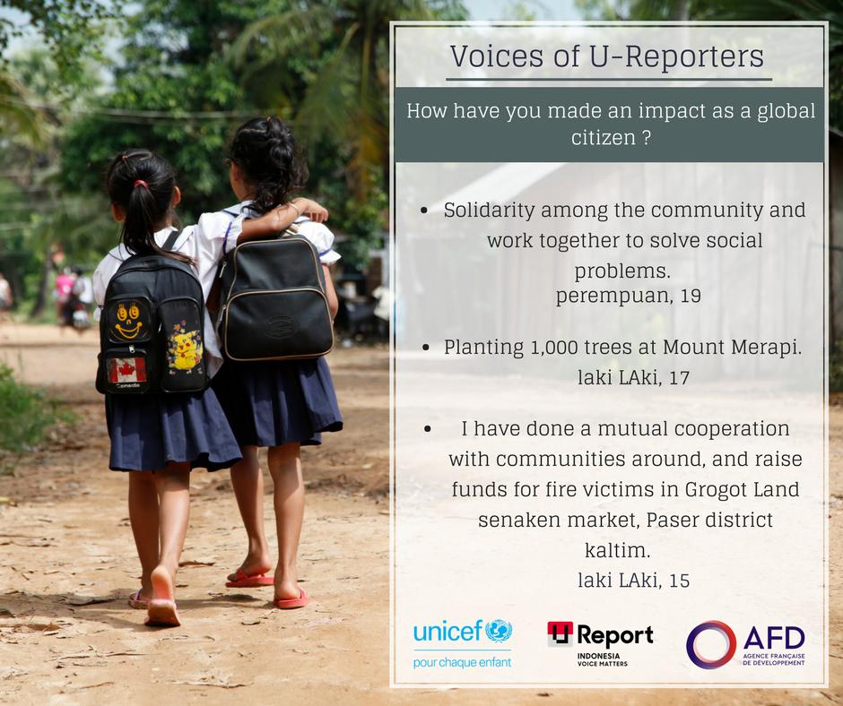 Découvre le témoignage de jeunes inspirants en #Indonésie qui s\