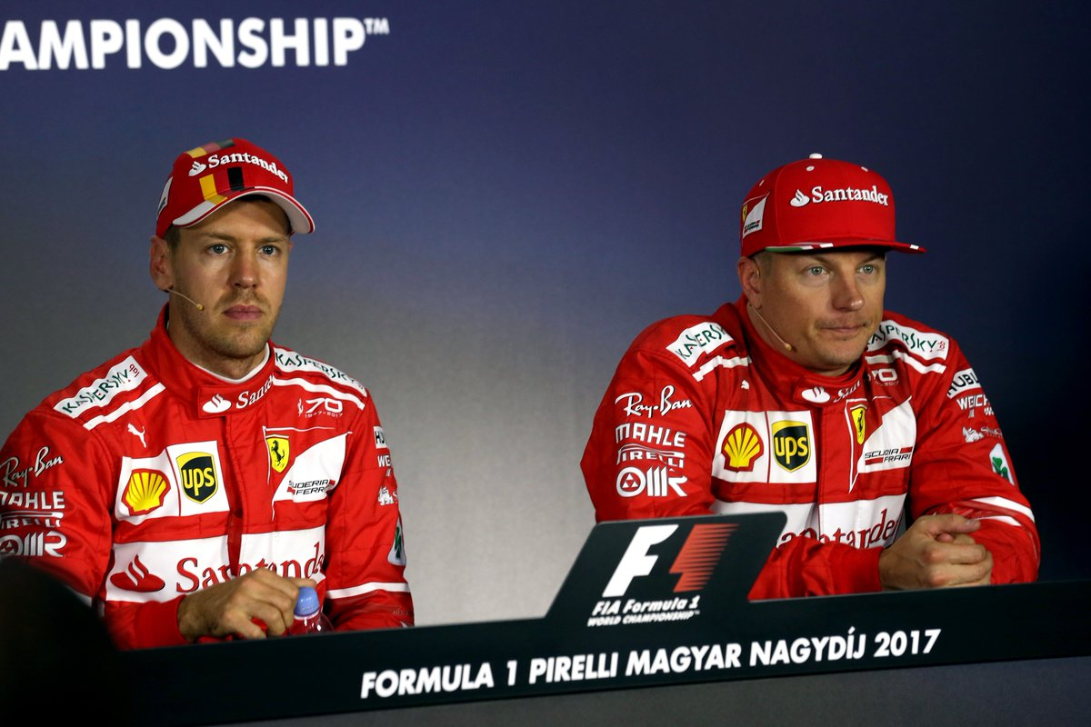 Ferrari will have the oldest driver pairing on the 2018 #F1 grid  Sebastian Vettel (30) and Kimi Raikkonen (38) have a combined age of 68   Fist-bump for all of you who got it right 👊  #F1FastFact