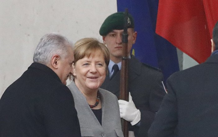 Merkel twitter.