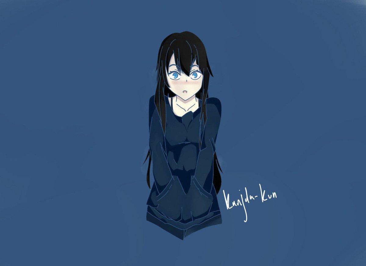 "kanjida-kun on twitter: ""jacket girl!!!! #cute #kawaii #anime #girl"