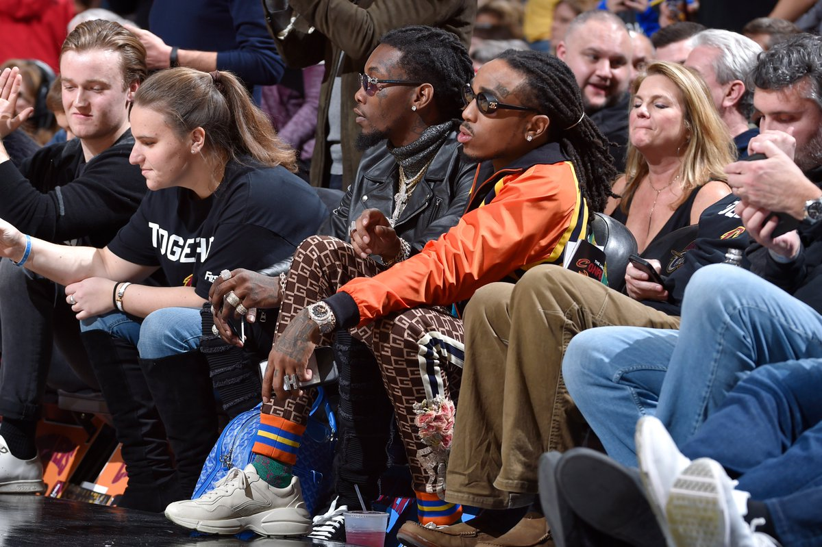 Quavo will play in the Celebrity All-Sta...
