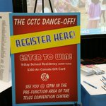 The day has arrived! Come down to #cctc2018 at the @soundkreations booth and register your school team in the #cctcdanceoff