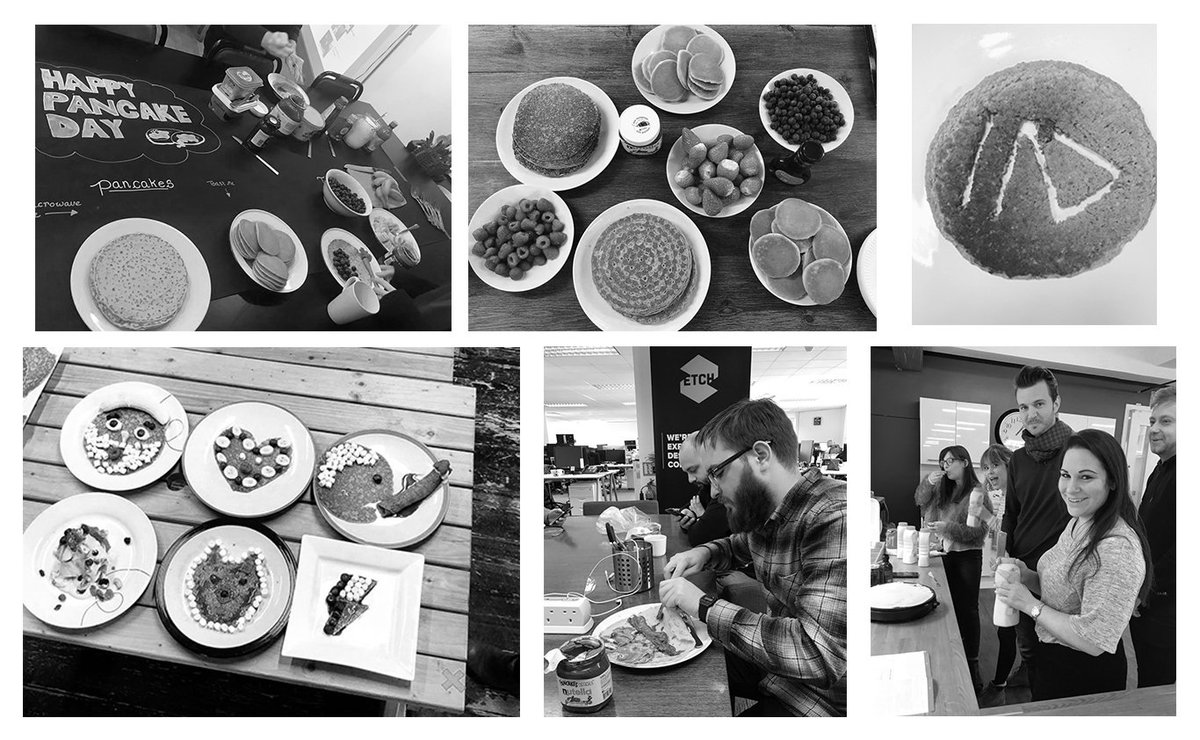 Many #digital #agencies decided to cook some pancakes at the office for Shrove Tuesday. Some made it salty while others preferred sweet pancakes. Take a look at how they enjoyed this delicious morning under the #PancakeDay2018 !  &gt;&gt;  http://www. topinteractiveagencies.com/digital/agency /articles/uk-digital-agencies-celebrated-pancakeday2018/ &nbsp; …  #uk #agencylife<br>http://pic.twitter.com/9zM336iBxY