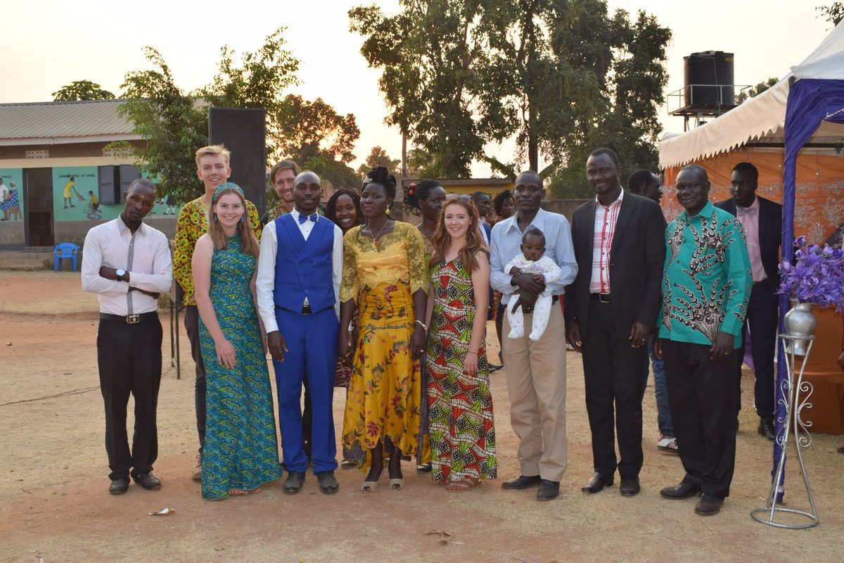 test Twitter Media - Linda and Tim Darby have posted an update from Uganda, including this lovely picture from a wedding they recently attended with their colleagues.They talk about the day in their latest blog post, which you can read in the link below!https://t.co/P7eGANJxQM https://t.co/vpAuTQeOep