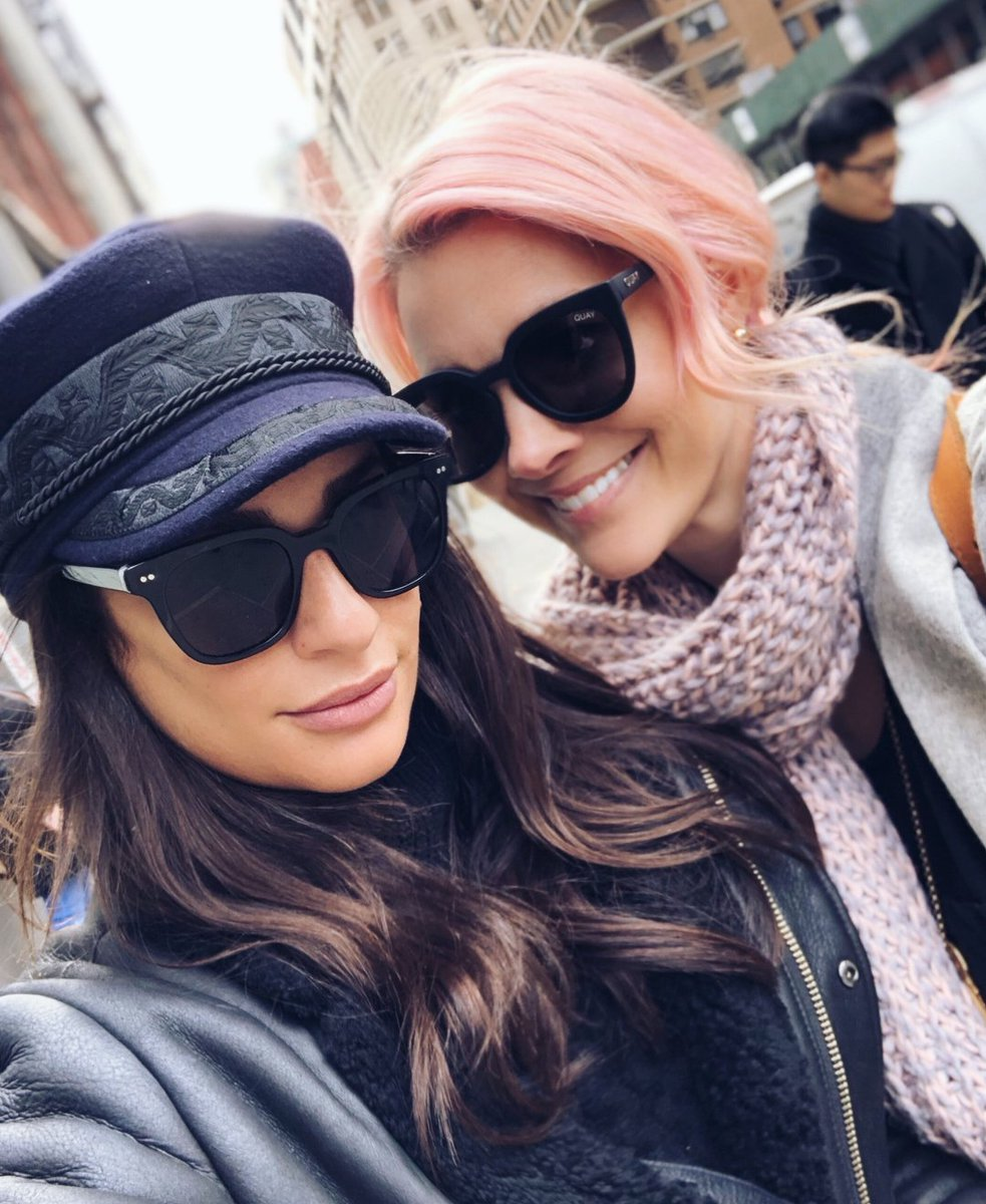 sarahpotempa: @leamichele love laughing, shopping, and walking around #nyc with you!!! Celebrating #galentinesday + being friends for over 10 years  <br>http://pic.twitter.com/OqwP774KGo