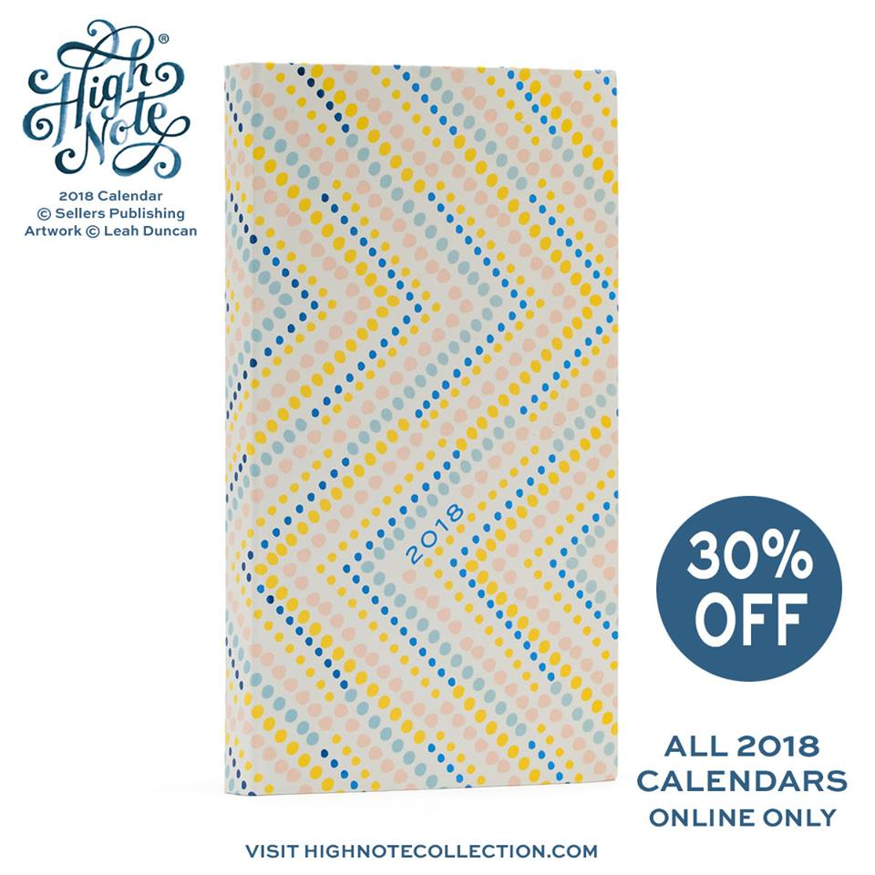 Our collection of 2018 High Note® pocket planners w/ stunning, foil embellished covers come from a great lineup of artists! Now 30% off at rsvp.com w/ #couponcode CAL30 at checkout #highnotecollection @leahduncanisme @ElizabethOlwen @jill_dehaan #Calendars #planner