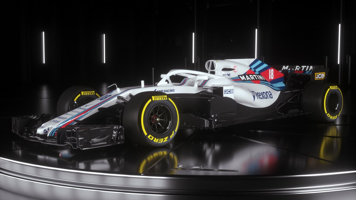 ICYMI, @WilliamsRacing gave us a first look at their 2018 challenger on Thursday >> f1.com/FW41Williams  #F1 #Unleash2018
