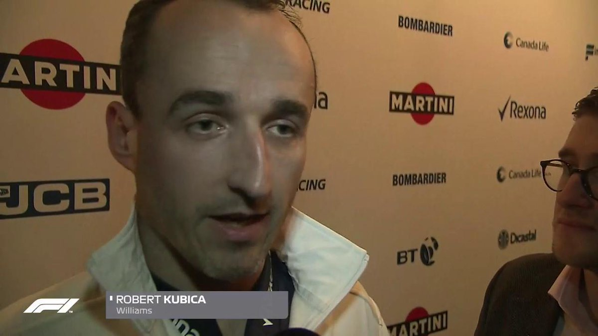 A very excited Robert Kubica makes a welcome return to the #F1 paddock in 2018 - and hes still dreaming of more...  #Unleash2018 #F1 @WilliamsRacing