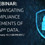 Starts in 5 minutes! Live webinar: #GDPR - Navigating the compliance requirements of your #SAP Data. If you are a U.S. company using SAP and conducting business worldwide, specifically with those in the EU, the GDPR affects you. Join us to find out more. https://t.co/zUdKjBEI1d