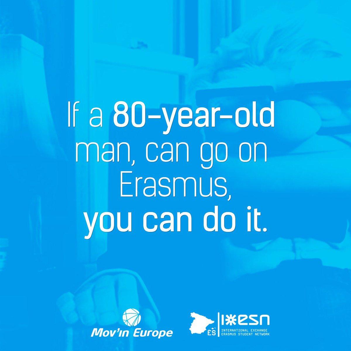 Risultati immagini per if a 80 years old erasmus