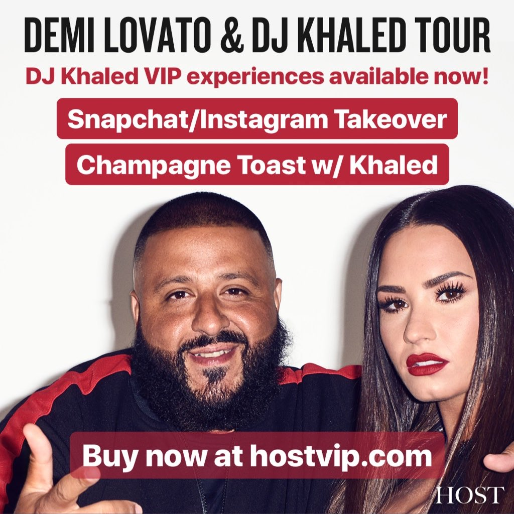 Dj khaled on twitter fan luv i cant wait to see you when i hit my hostvip snapchat instagram meet greets and champagne toasts are available now tellmeyoulovemetour httpbitdj khaled vip picitter m4hsunfo