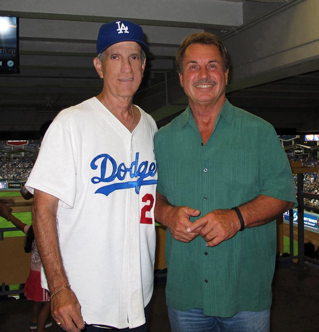 Happy Birthday to The Penguin, Ron Cey and me.