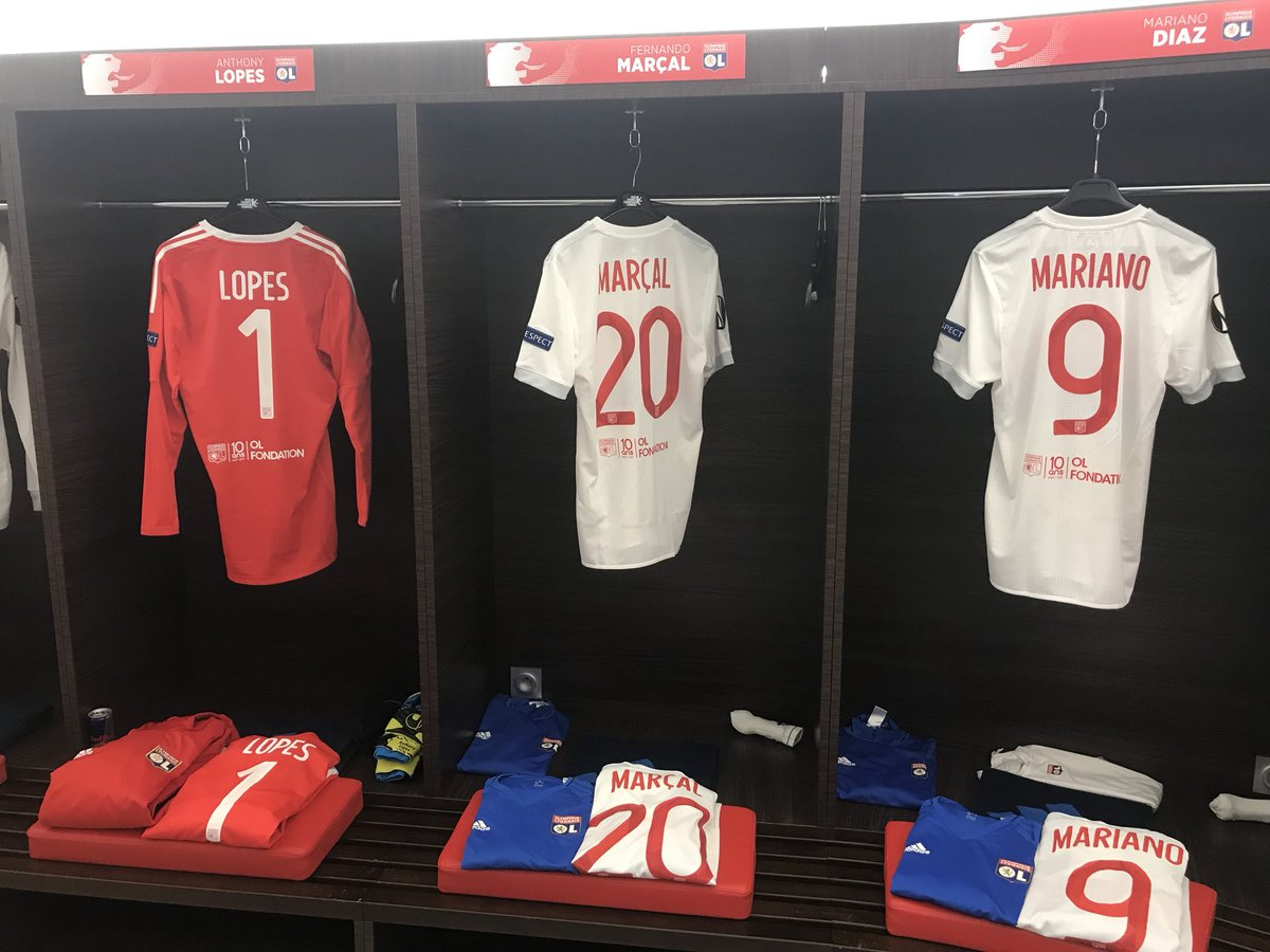 Maillot Domicile Olympique Lyonnais MARCAL