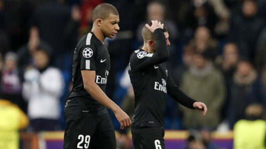 PSG's defeat against Real Madrid created tension within PSG's locker-room with Di María and Thiago Silva's wives attacking Unai Emery on social media, Cavani upset at being subbed off, Rabiot with his teammates at the mix zone, and the French media attacking them. [marca]