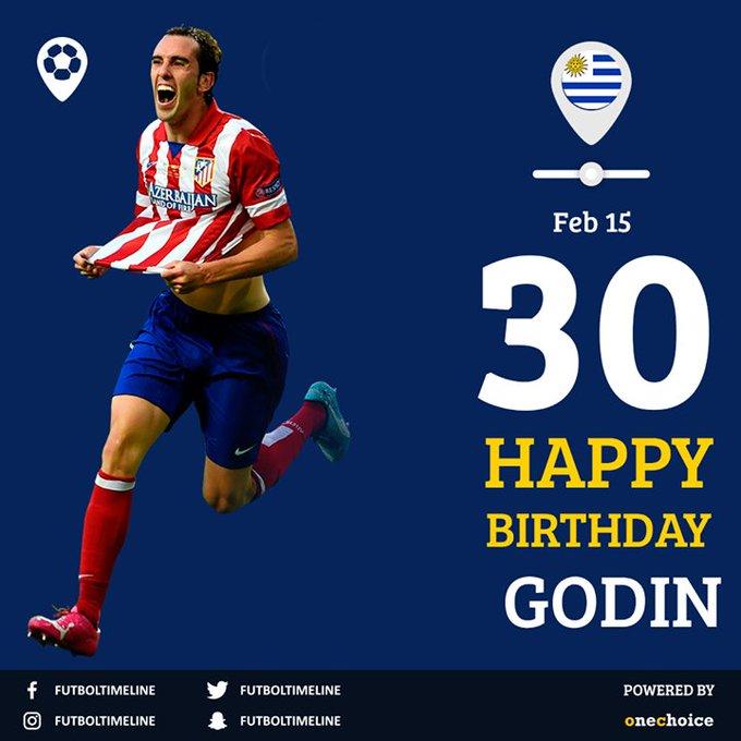 Diego Godin's Birthday Celebration