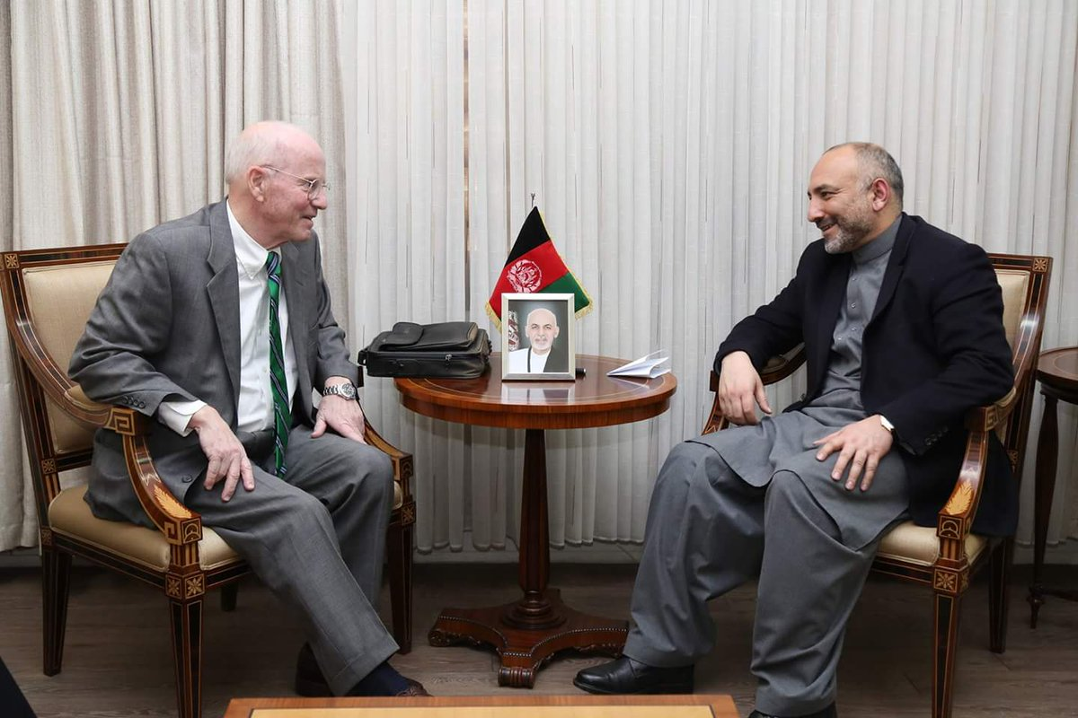 NSA MH Atmar met with Lennart Linnér, Sweden Special Rep. for PAK&AFG, discussed the historical political& diplomatic relations btwn the two countries. NSA Thanked Sweden for their humanitarian support with the ppl of AFG in the form of Swedish Committee for Afghanistan.(1)