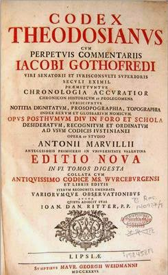 Resultado de imagen para código de teodosio