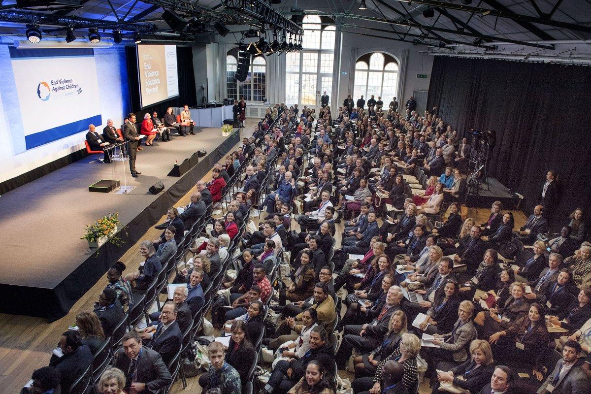 386 participantes de 67 naciones entre ellas México, se dieron cita en la Cumbre de soluciones para poner #FinALaViolencia contra la niñez en el 🌎. #EndViolenceSWE 🇸🇪¡La violencia contra niñas y niños debe terminar ahora! bit.ly/2Gg8qgb