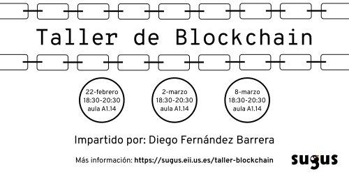 Taller de Blockchain https://t.co/wIDOyY...