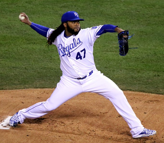 Happy Birthday to former Kansas City Royals player Johnny Cueto(2015), who turns 32 today!