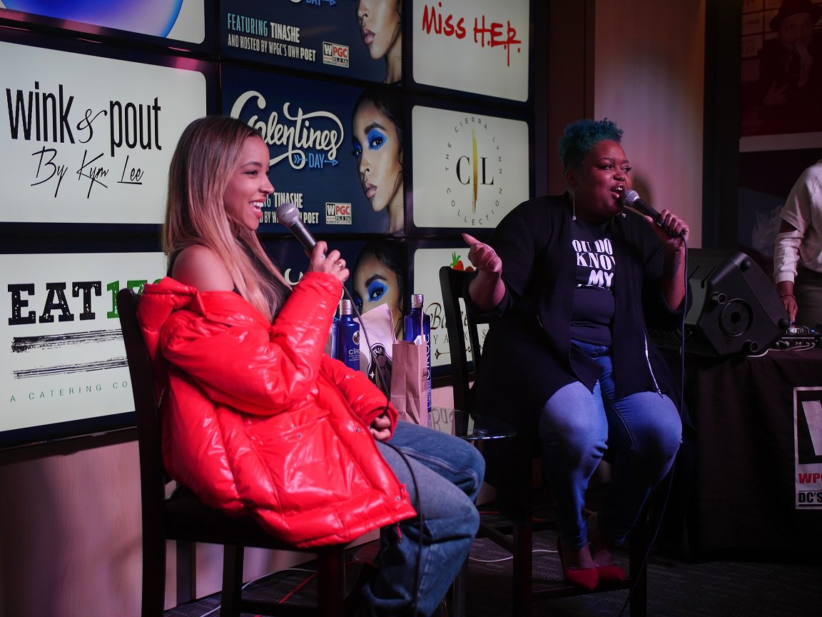 Check out all the pics from WPGC&#39;s #GalentinesDay event with @JustCuriousPoe and @Tinashe!  http:// bit.ly/2Eyqk1a  &nbsp;  <br>http://pic.twitter.com/j1ycMAzEGW