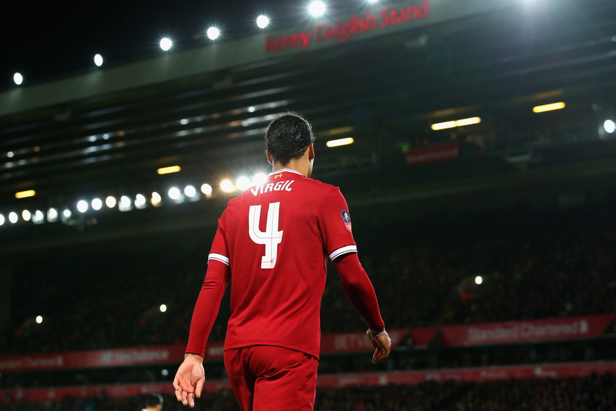 He looks like he's going in and looks like he is in charge.  @DanielAgger has already seen enough to believe @VirgilvDijk can spread confidence in the #LFC defence: lfc.tv/ADvN