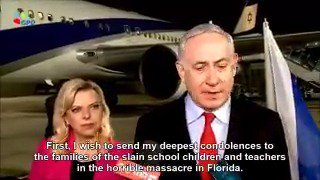 Prime Minister Netanyahu: I wish to send my deepest condolences to the families of the slain school children and teachers in the horrible massacre in Florida. I speak for the entire people of Israel when I say to the families and to the American people, our hearts are with you.