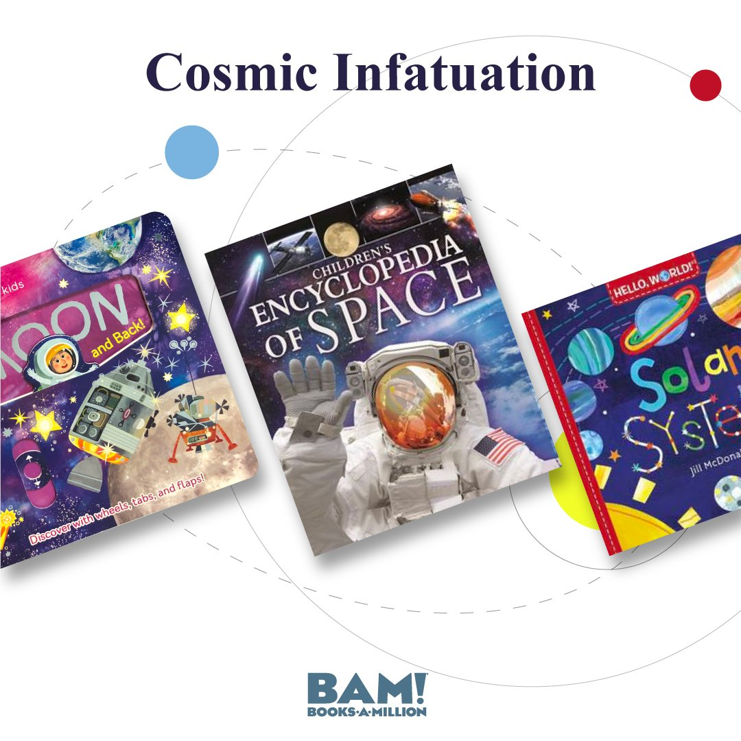 The type of discoveries your little ones will make are...out of this world! Experience more in-store and online at #BooksAMillion! bit.ly/2suwYjs