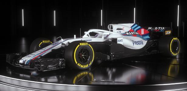 Williams apresenta carro para a próxima temporada da Fórmula 1: confira https://t.co/N8x49OianB