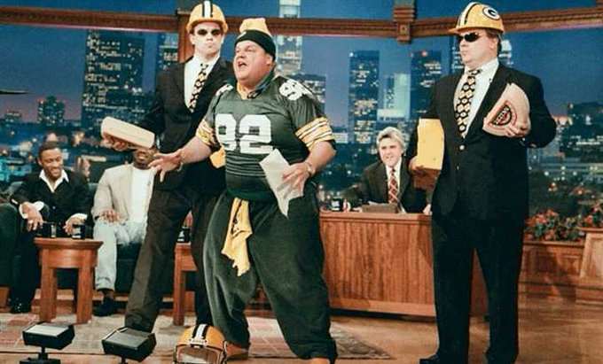Happy Birthday to the late Chris Farley! We loved your passion for backing the pack!
