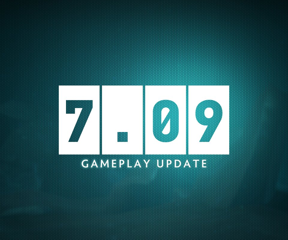 Dota 7.09 is now LIVE! https://t.co/qxga...