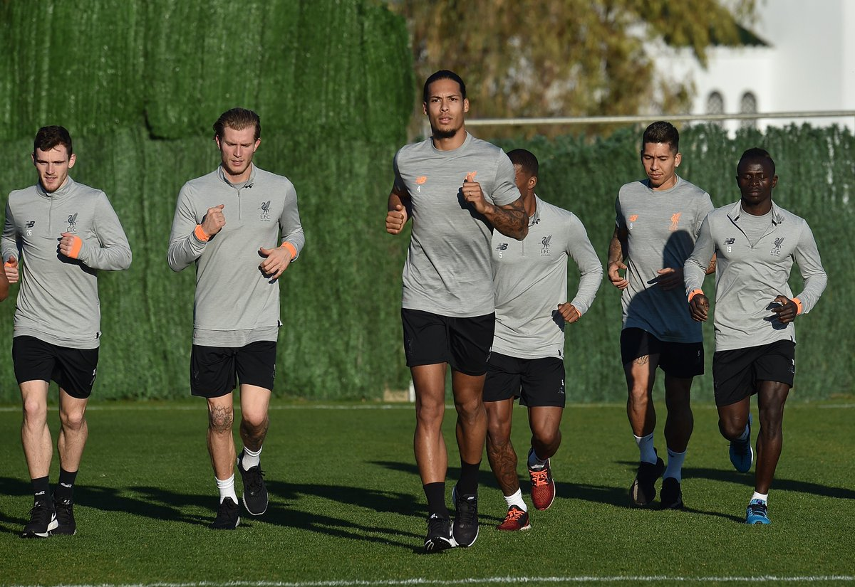 🇵🇹 🛫 🇪🇸  Inside our Marbella training camp: lfc.tv/ADkW