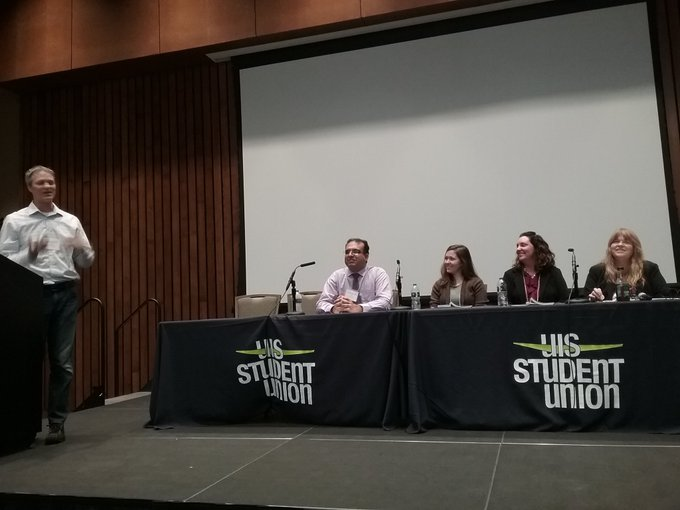 RT @DungeyChem: #UISedu Excellence in Teaching and Learning Fellows sharing their experiences now in #StudentUnion https://t.co/UV7NIH1OMH