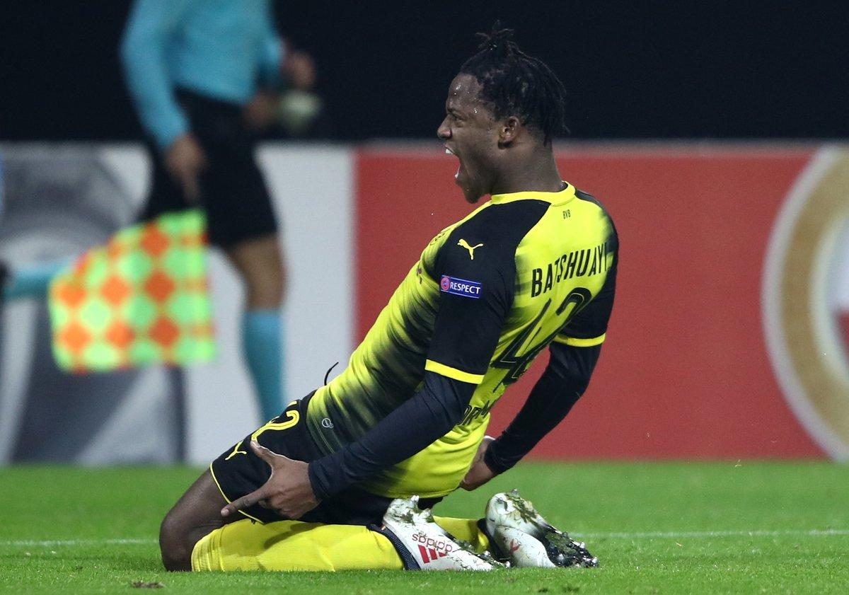 5 buts en 3 matches pour Michy Batshuayi qui n'en finit plus d'impressionner depuis son arrivée à Dortmund ! 🔥🔥🔥