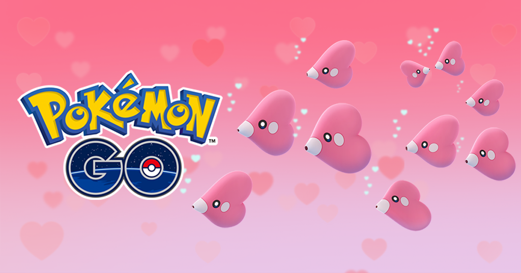 Serebii Update: The Pokémon GO Valentines event of Luvdisc & Chansey spawns & triple stardust on their captures has been extended by 24 hours serebii.net/index2.shtml