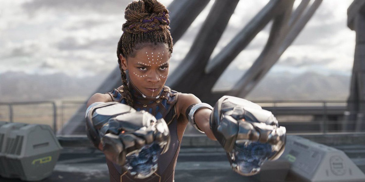 Shuri is the real mvp. That is all. #Bla...