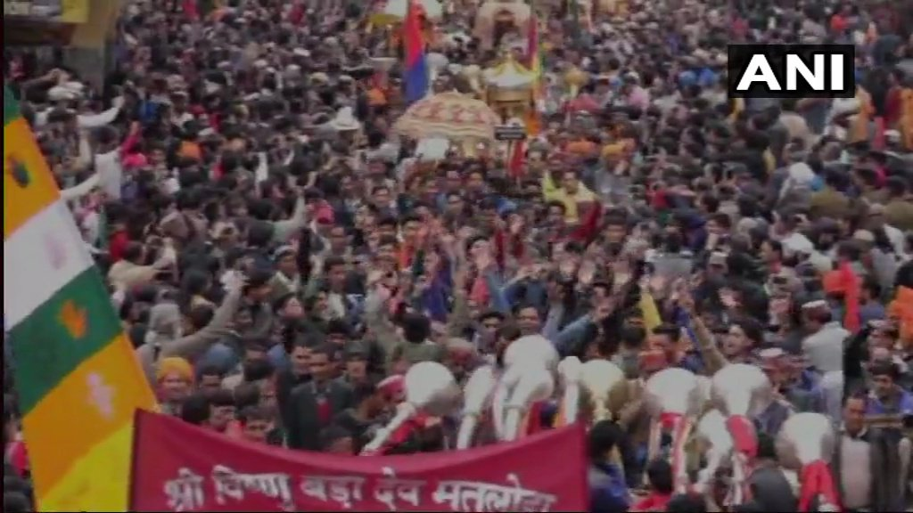 Maha Shivratri Fair began in Himachal Pradesh's Mandi, yesterday.