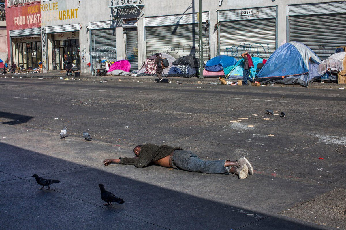 "Apu Gomes on Twitter: ""Skid Row, Downtown Los Angeles ..."