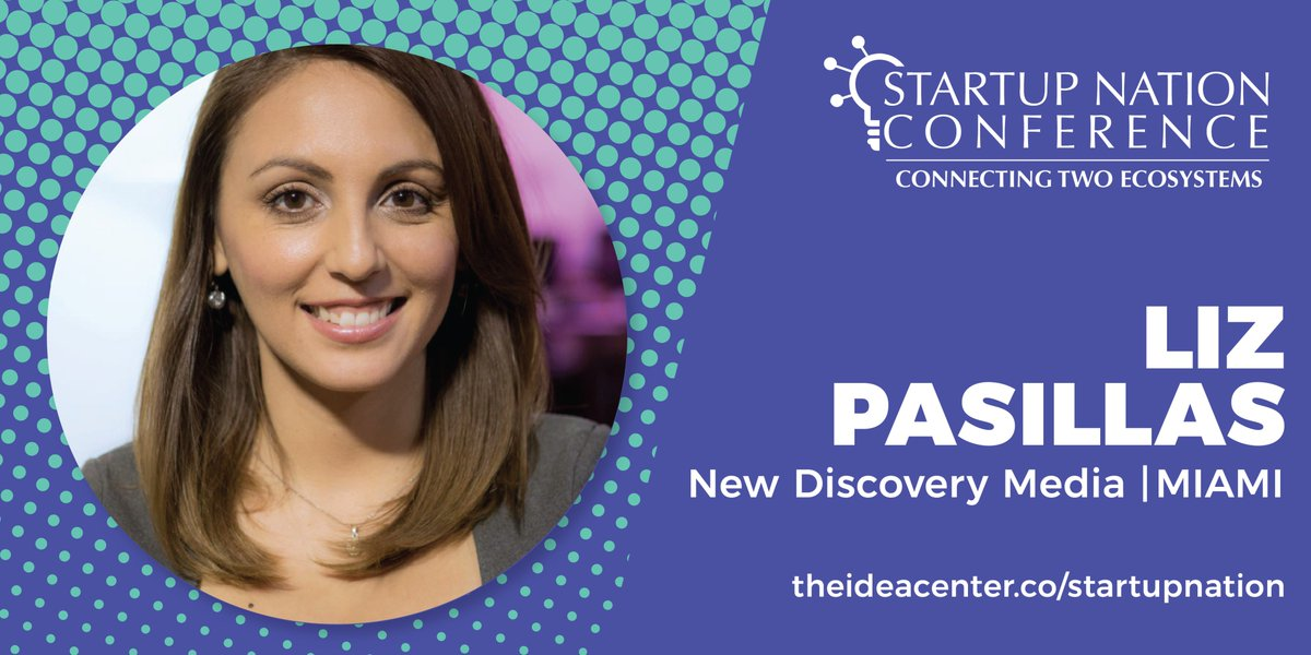 Immersive, Interactive & Social. @soylizpasillas CoFounder/COO of @newdiscoverym wants to revolutionize the music video with @mersyv_in, a mobile platform to create #VirtualReality and #AugmentedReality with a 360 music experiences. #2018StartupNationConference