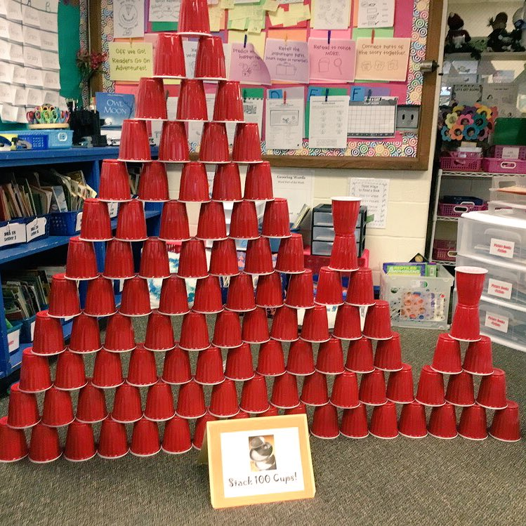 RT <a target='_blank' href='http://twitter.com/MrsLee2nd'>@MrsLee2nd</a>: What can you design with 100 cups? Happy 100th Day of School! <a target='_blank' href='http://twitter.com/Ashlawneagles'>@Ashlawneagles</a> <a target='_blank' href='http://twitter.com/APSVirginia'>@APSVirginia</a> <a target='_blank' href='https://t.co/tae6pFJvHv'>https://t.co/tae6pFJvHv</a>
