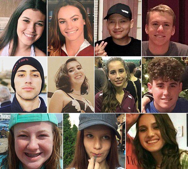 "The Reagan Battalion On Twitter: ""Jaime Guttenberg, 14"