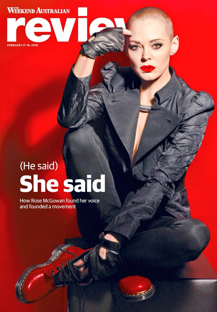 Tomorrow in Review: how Hollywood star Rose McGowan found her voice and inspired a movement that changed the world