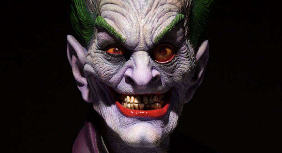 gizmodo on twitter the joker rarely looks as scary as in this bust