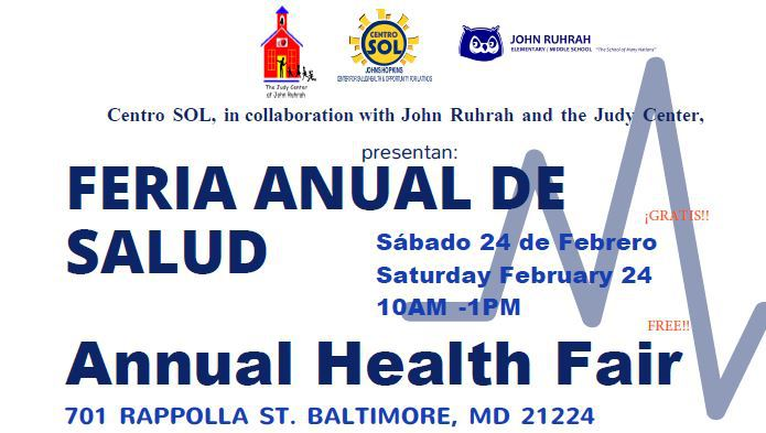 Centro Sol On Twitter Gratis Annual Health Fair 2018 Feb 24 10am