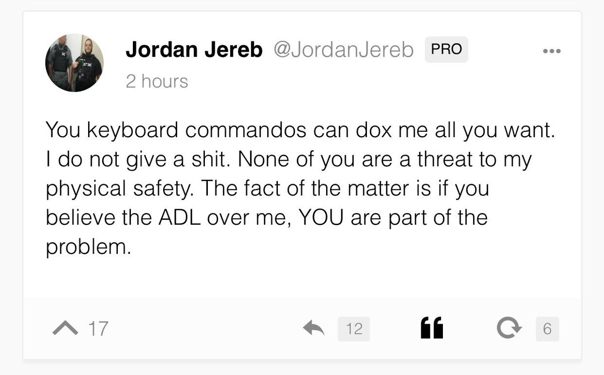 Image result for jordan jereb; ADL; images