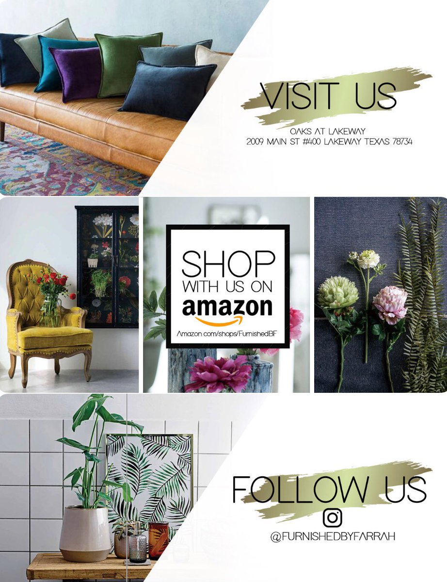 Furnished By Farrah On Twitter Shop With Us In Store On Amazon