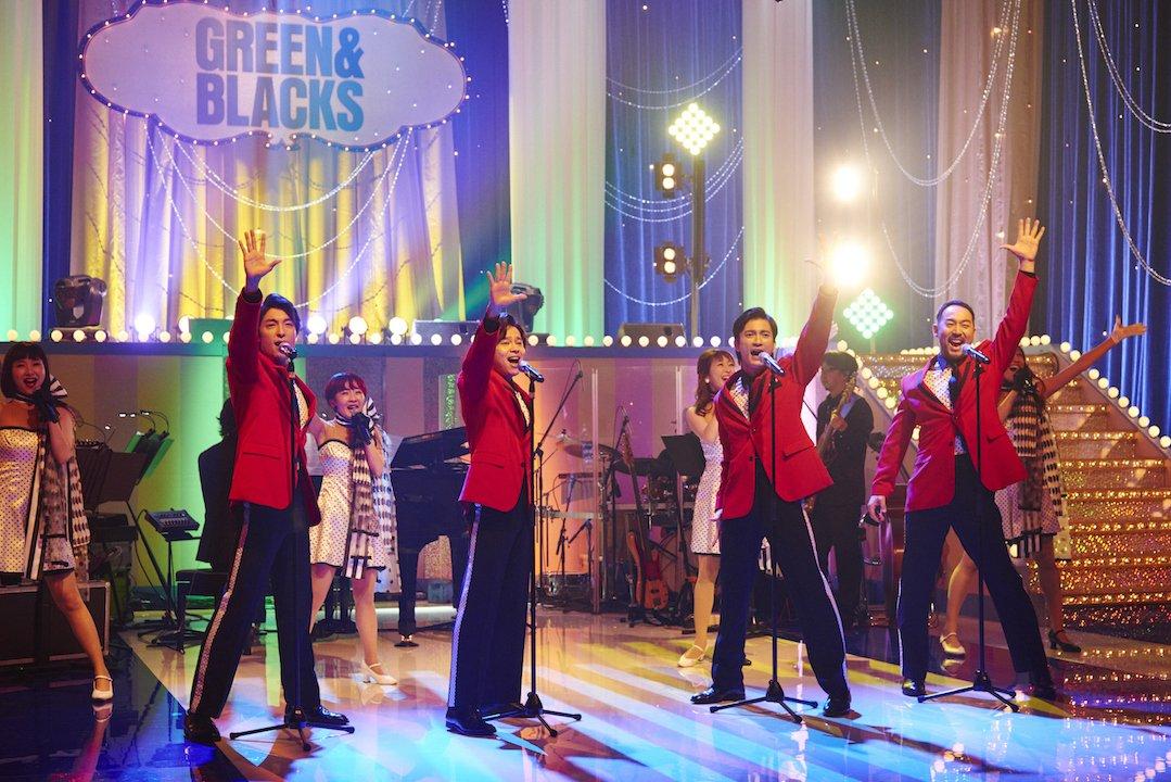 【あすグリブラ初回放送】 『グリーン&ブラックス』第11話の歌コーナー、今回も華やかです! グリブラ